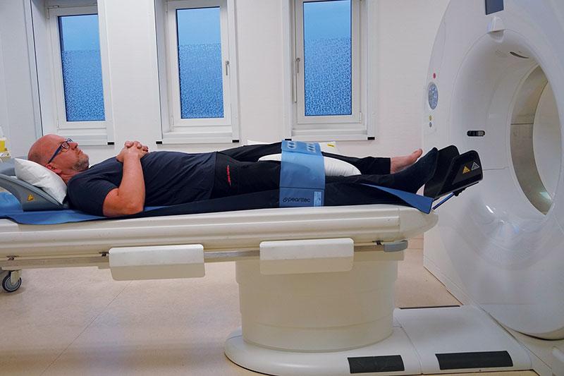 ProBelt Gurt-System Patientenlagerung für CT