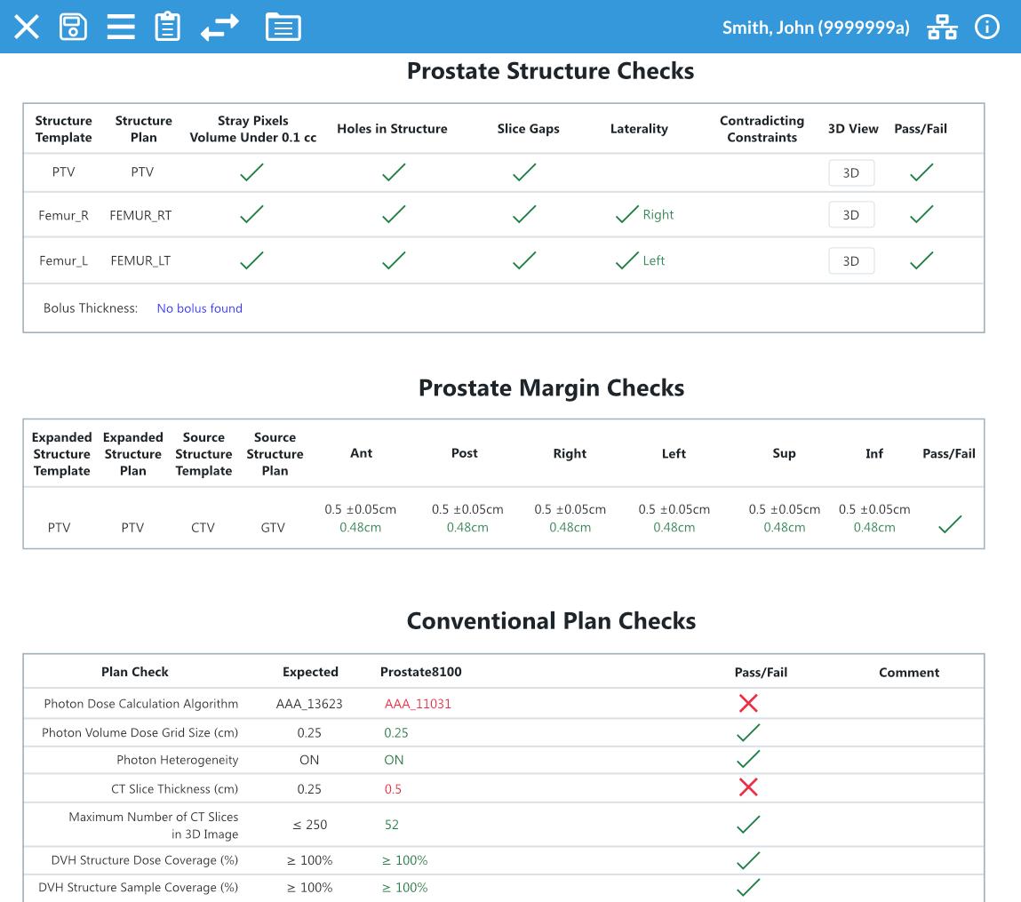 ClearCheck Planprüfungs- und Dokumentationssoftware Radformation